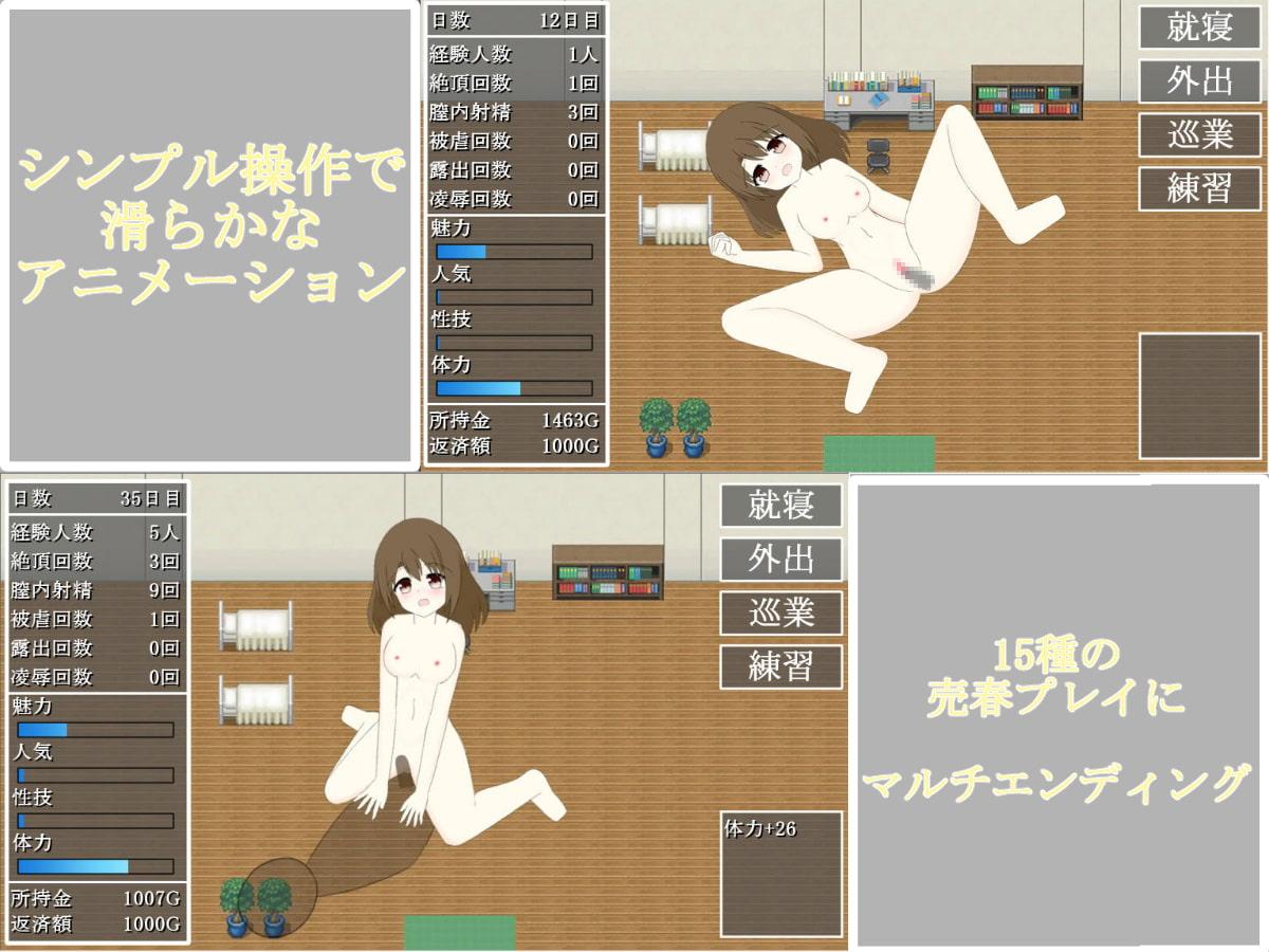 売春貴族~借金返済シミュレーション~