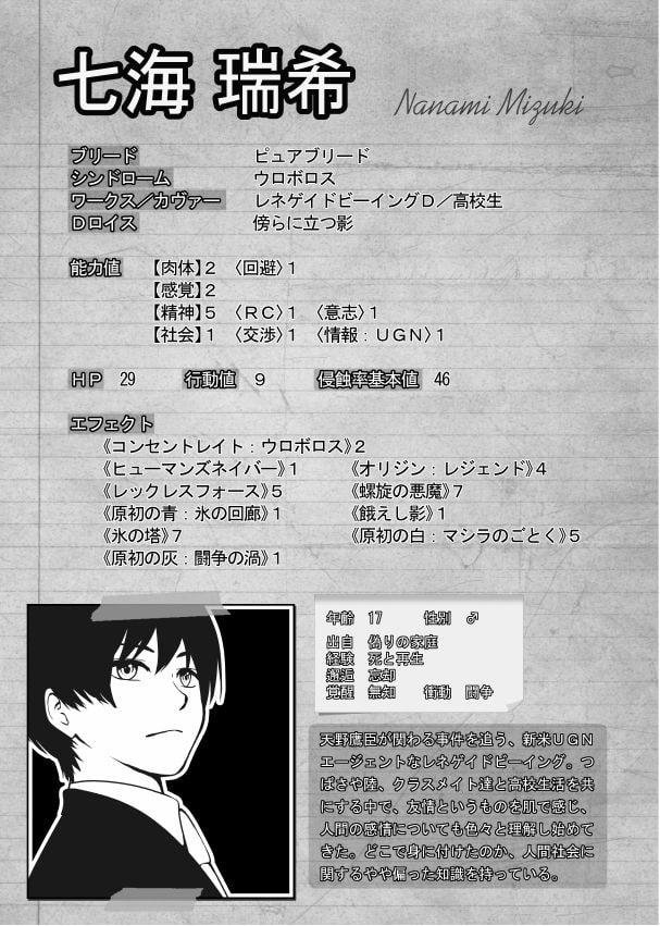 ダ○ルクロス The 3rd Edition リプレイ・ハーツ2