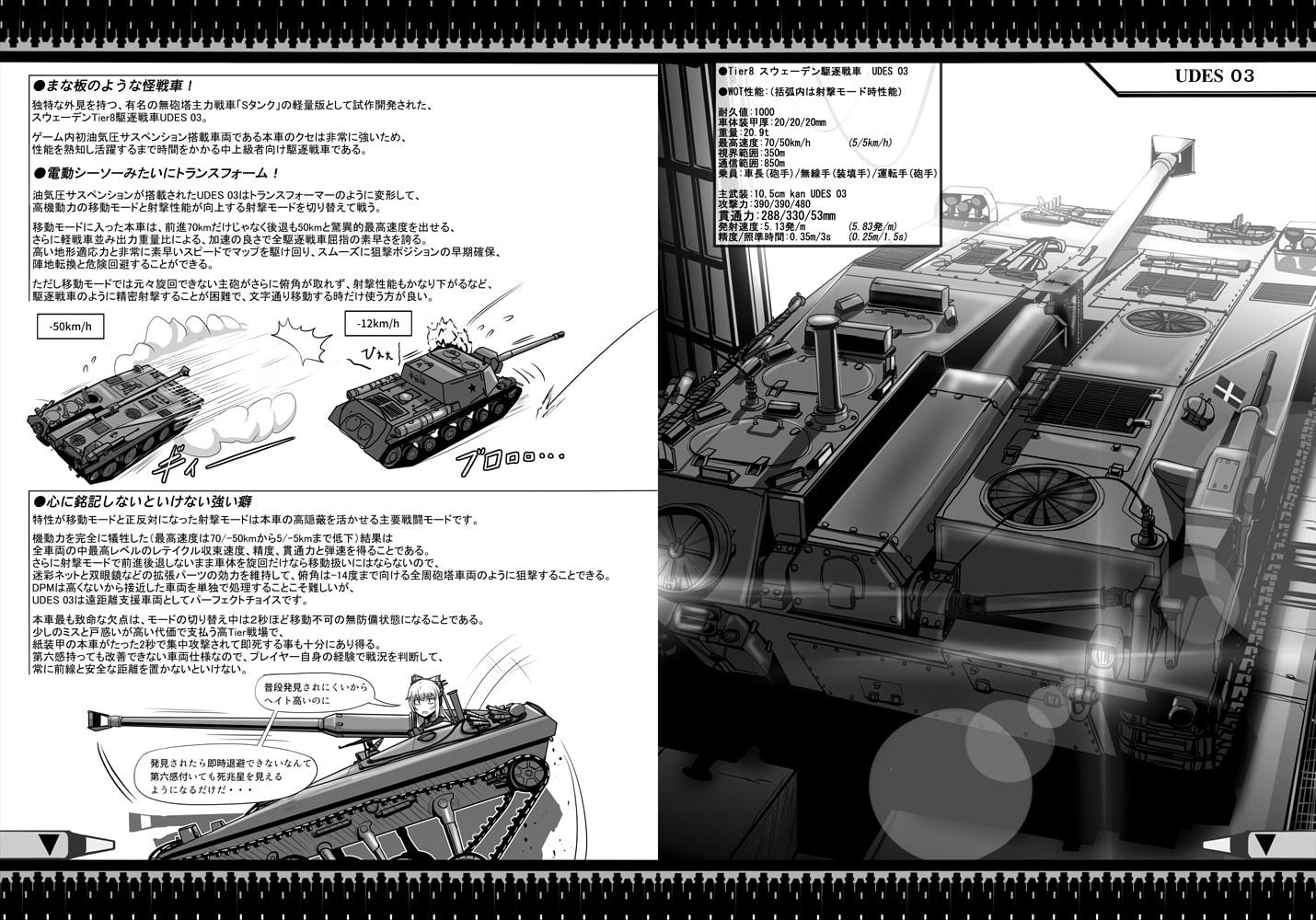元月兵の戦車心得vol.3