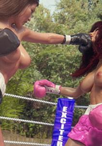 Taffy Girlz: Digital Fighters