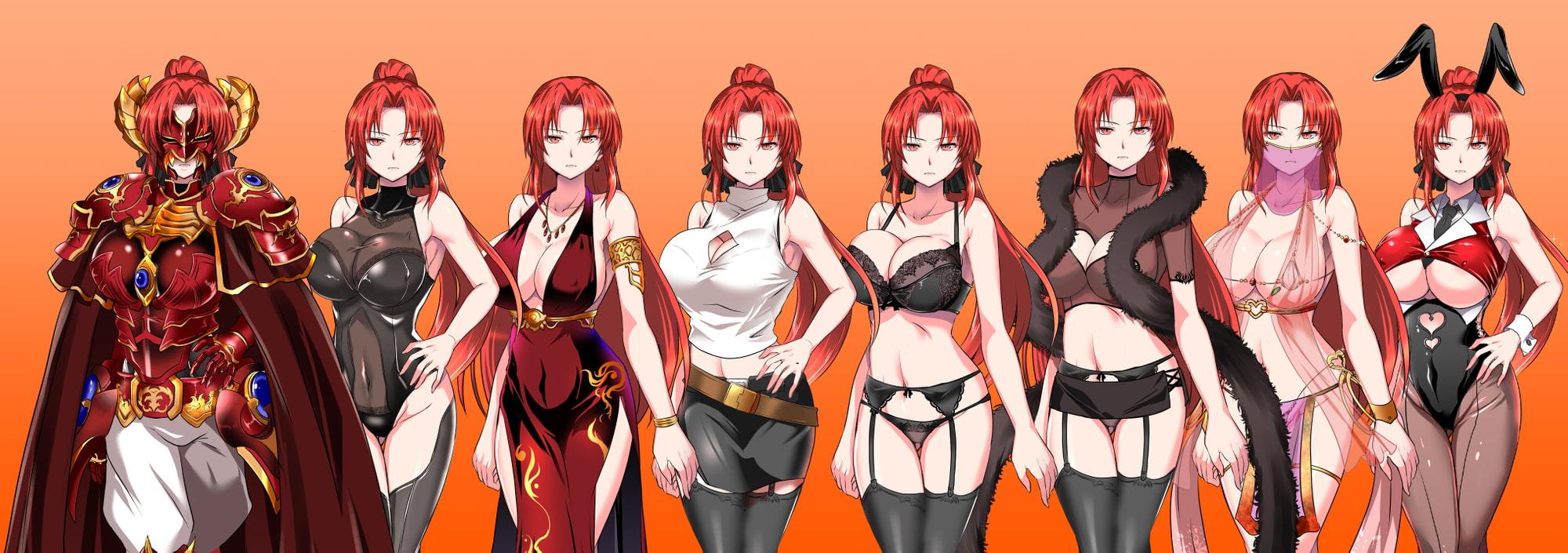RJ233372 赤髪の鬼神 [20210401]