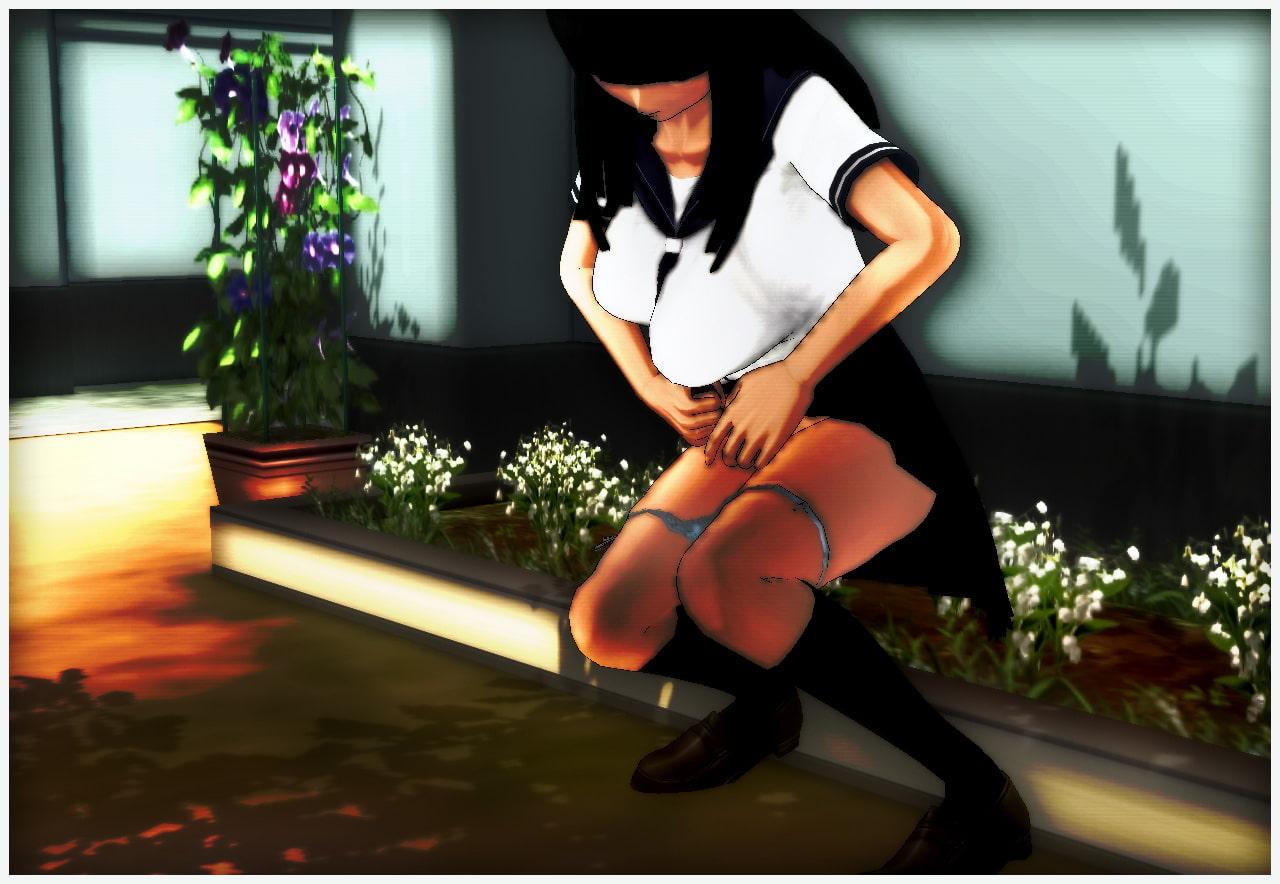 ヤバい写真~少女の秘密の糞尿写真