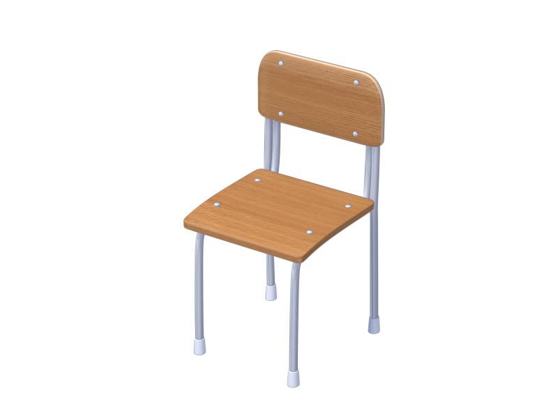 全角度対応イベントCG用背景素材集 『教室の椅子と机』