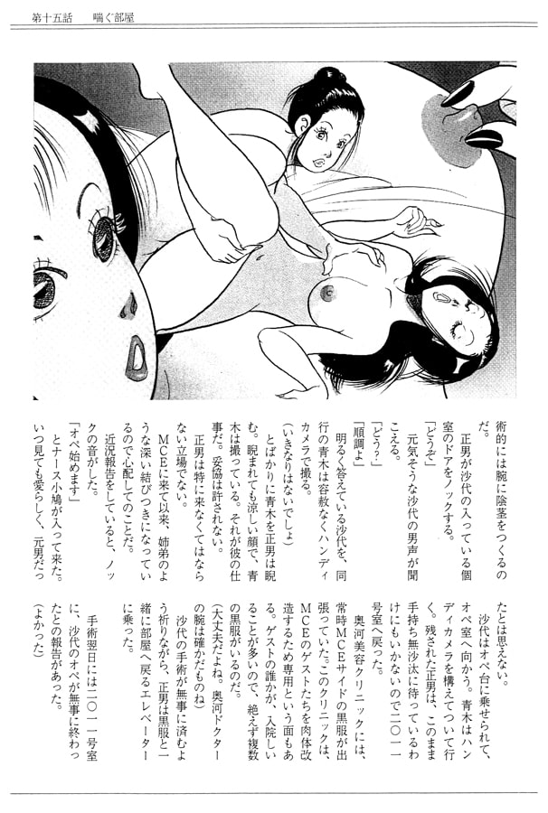 性転換肉体改造小説S&M<下>-沙代と正男-