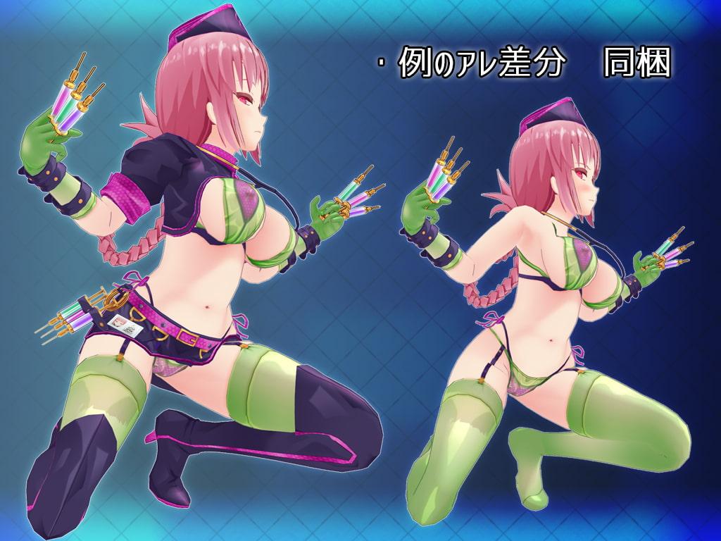 F●O 3Dモデル 婦長