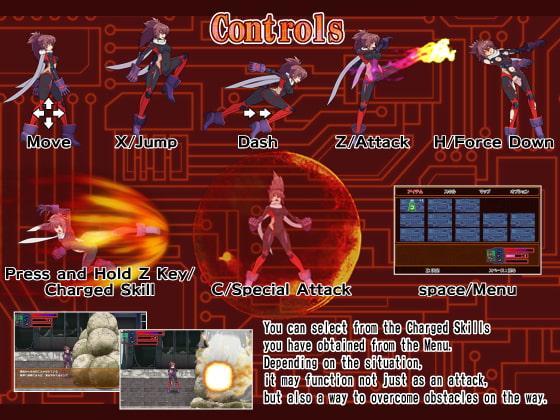 Soul of Phantasm [English Ver.] (ウルトラマンボー) DLsite提供:同人ゲーム – アクション