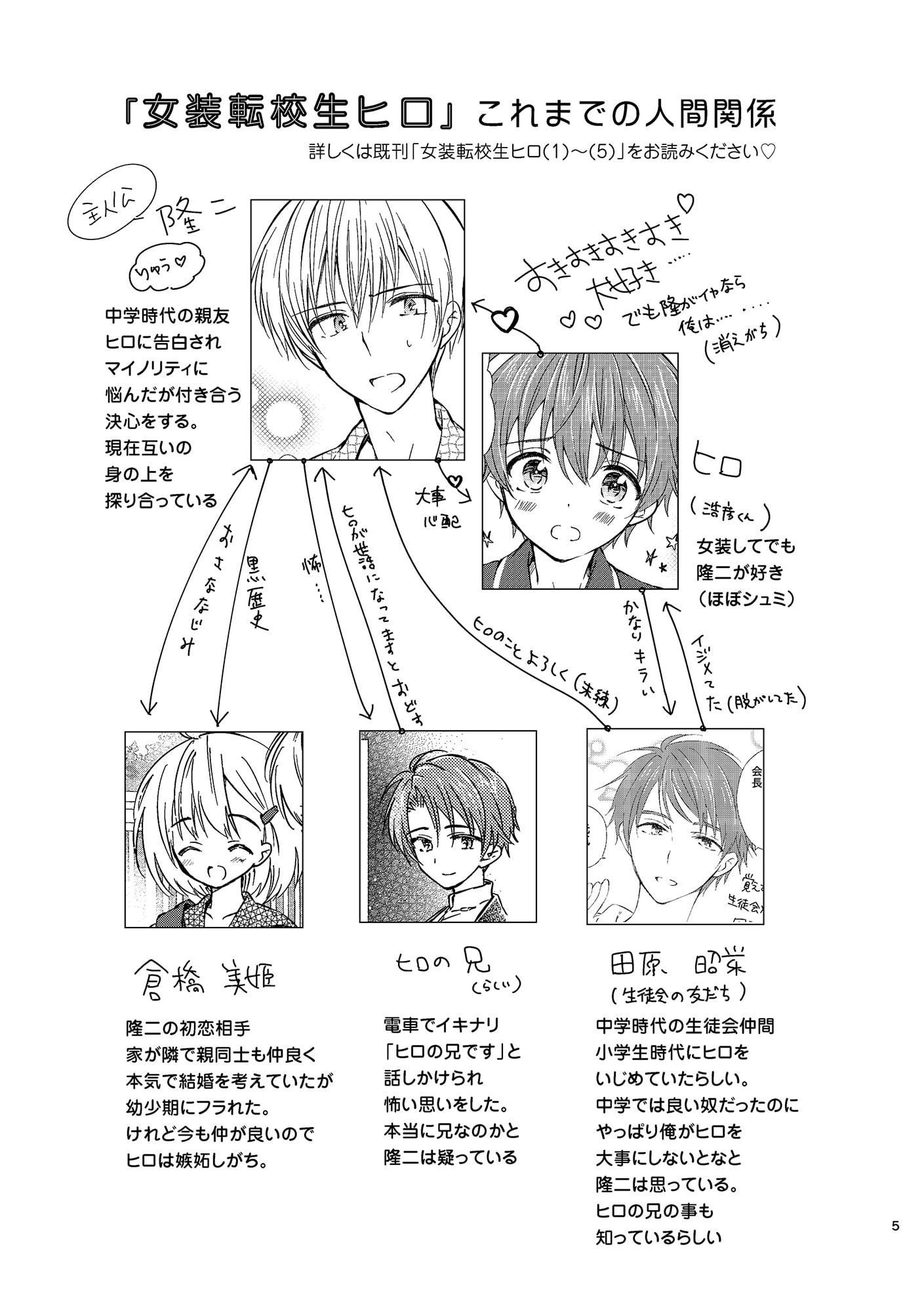 女装転校生ヒロ(6)