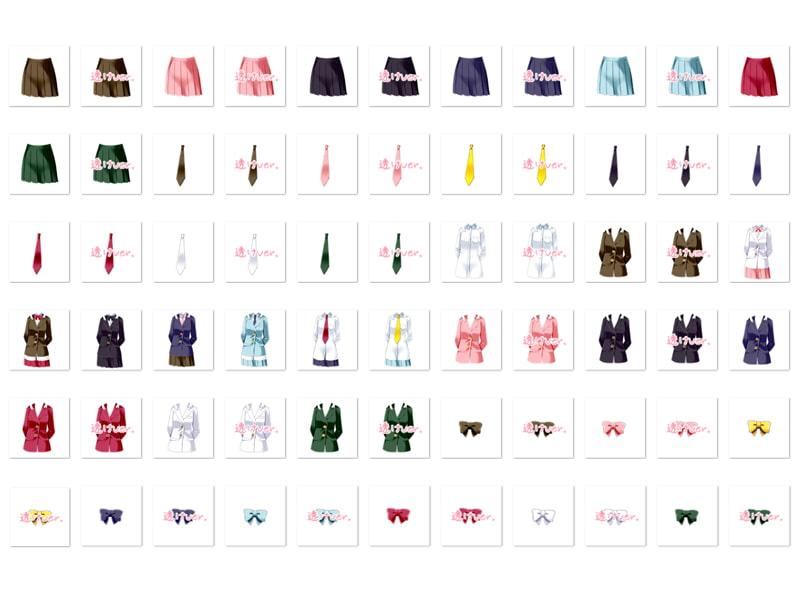 佐野俊英があなたの専用原画マンになります 衣装素材集A - ブレザー -