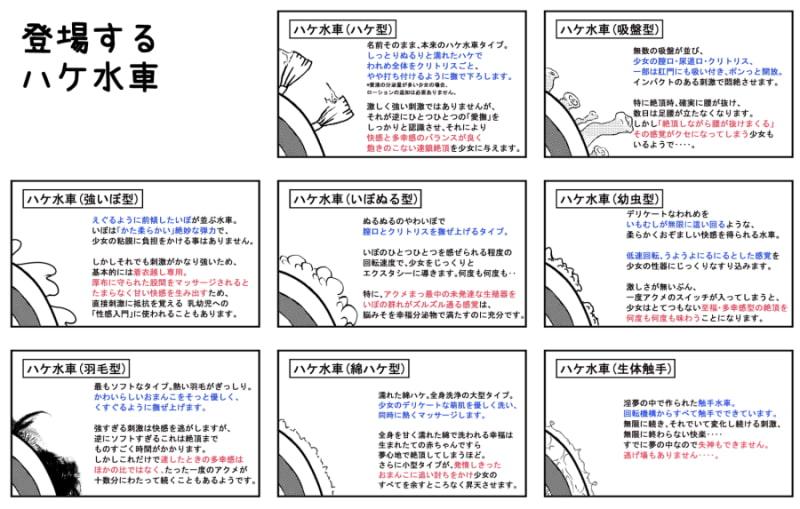 絶頂少女 Vol.1 悶絶ハケ水車