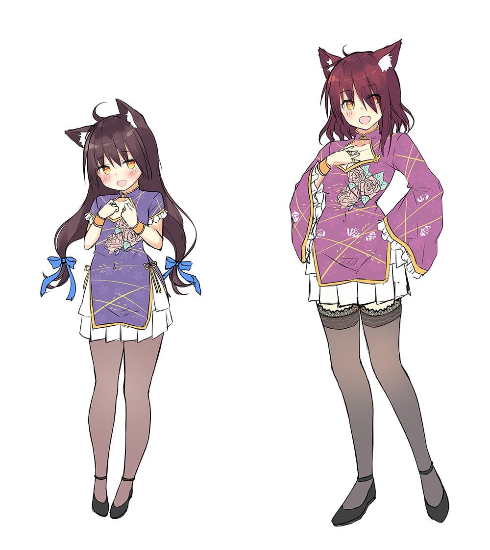 【ハイレゾ×KU100バイノーラル】幻想の森・和耳荘~オオカミ姉妹があなたのお耳をトロトロにします♪