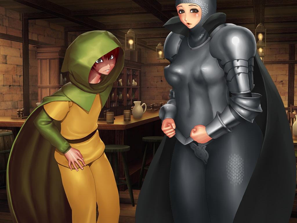 パーティを組んだ女剣士が超強いんだけど、性欲もそれに比例して強かった件。