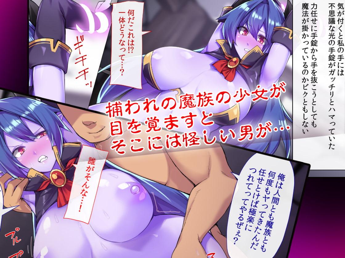 [RJ249753][幻想グラフィックス] 攫われた魔族の少女は人間チ●ポにアクメすると価格比較