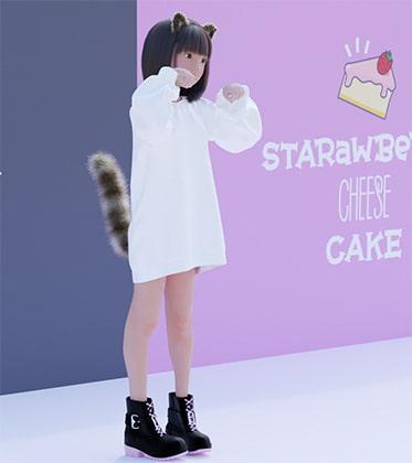 STARawBeRRy CHEESE CAKE