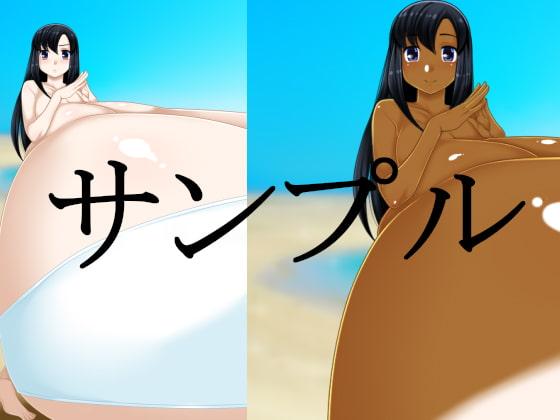 黒髪ロング娘の爆乳超乳ミニCG集のサンプル3