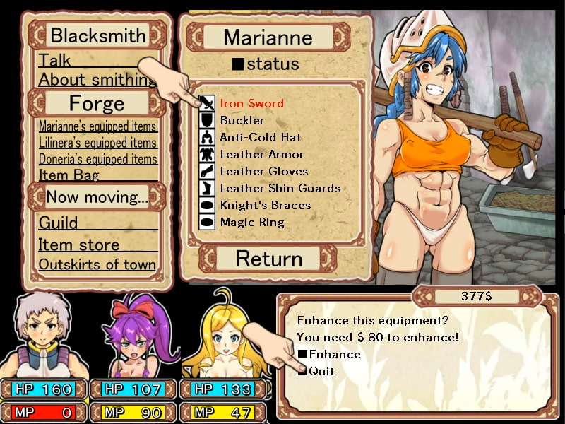 Dungeon of Erotic Master [English Ver.] [rusimarudou]