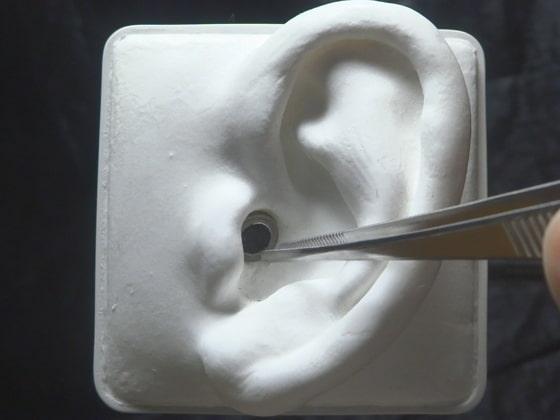【声なし】5種類の耳かき(爪楊枝、ピンセット、エラストマーetc) / SR3D