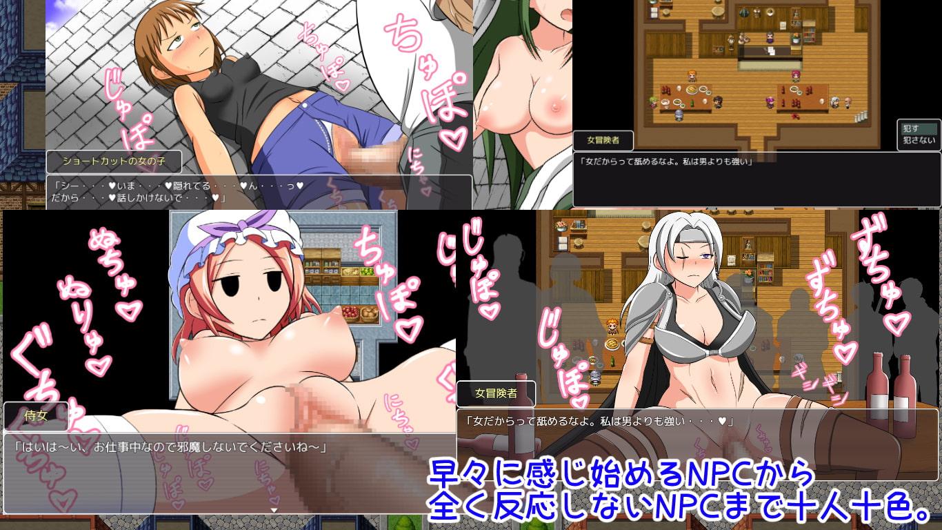 NPC姦!ゲーム世界の女の子達を犯して回れ!!5