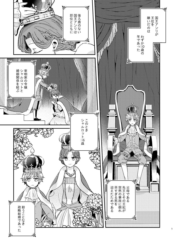 少年王と年上王妃