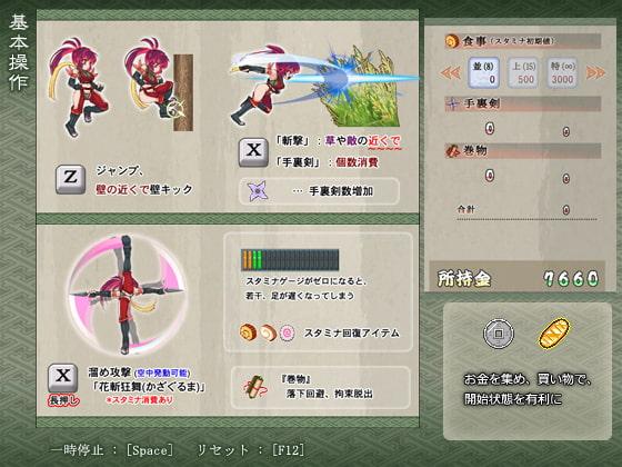 Kunoichi Mikiri - Sprint Chronicles