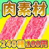 「【100円シリーズ】肉素材」     ART111