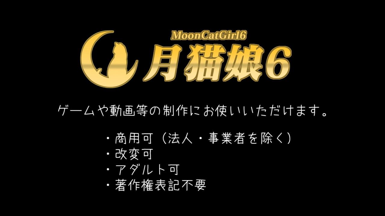 顔射VRoidモデル「月猫娘6」 (MoonCat) DLsite提供:同人ゲーム – ツール・アクセサリ