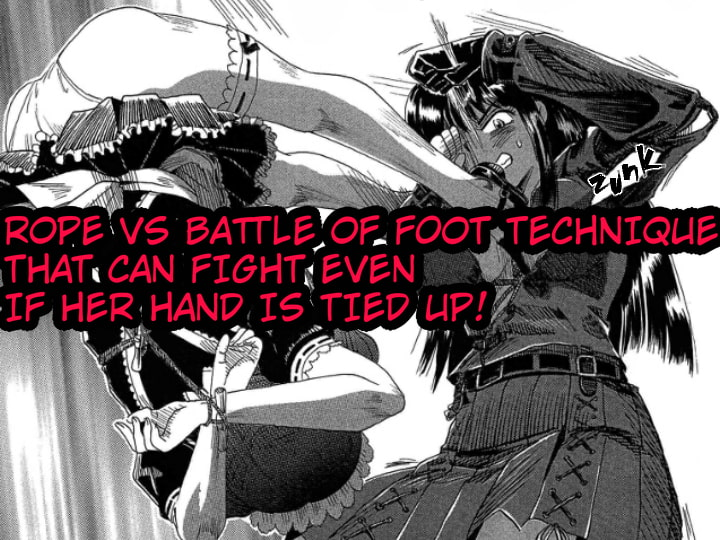 A TALE OF BONDAGE FIGHTER PRINCESS SPHINX act2 vsTAEKWONDO