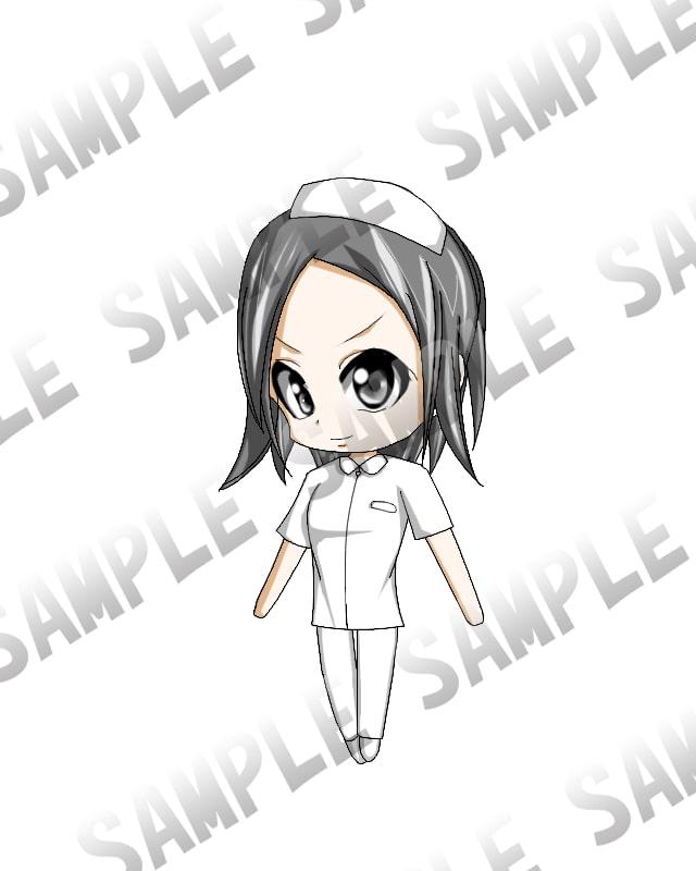 看護師シリーズ01/女性タイプ1