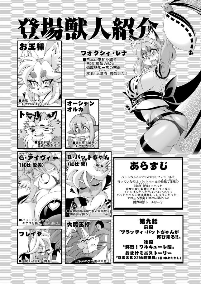 魔法の獣人フォクシィ・レナVol.9