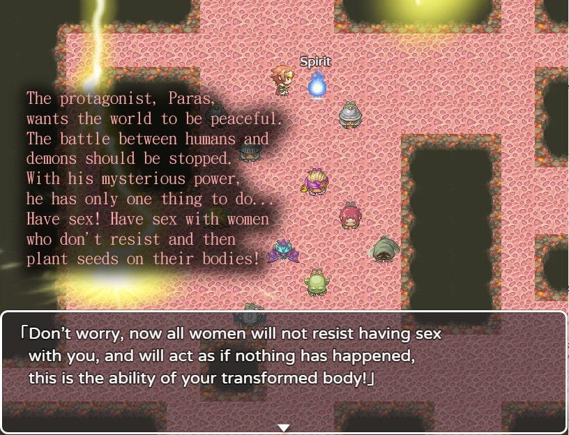 !NPC SEX! Seeding All Women to Promote World Peace English Ver.