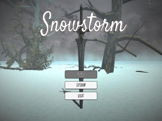 【新着同人ゲーム】Snowstormのトップ画像