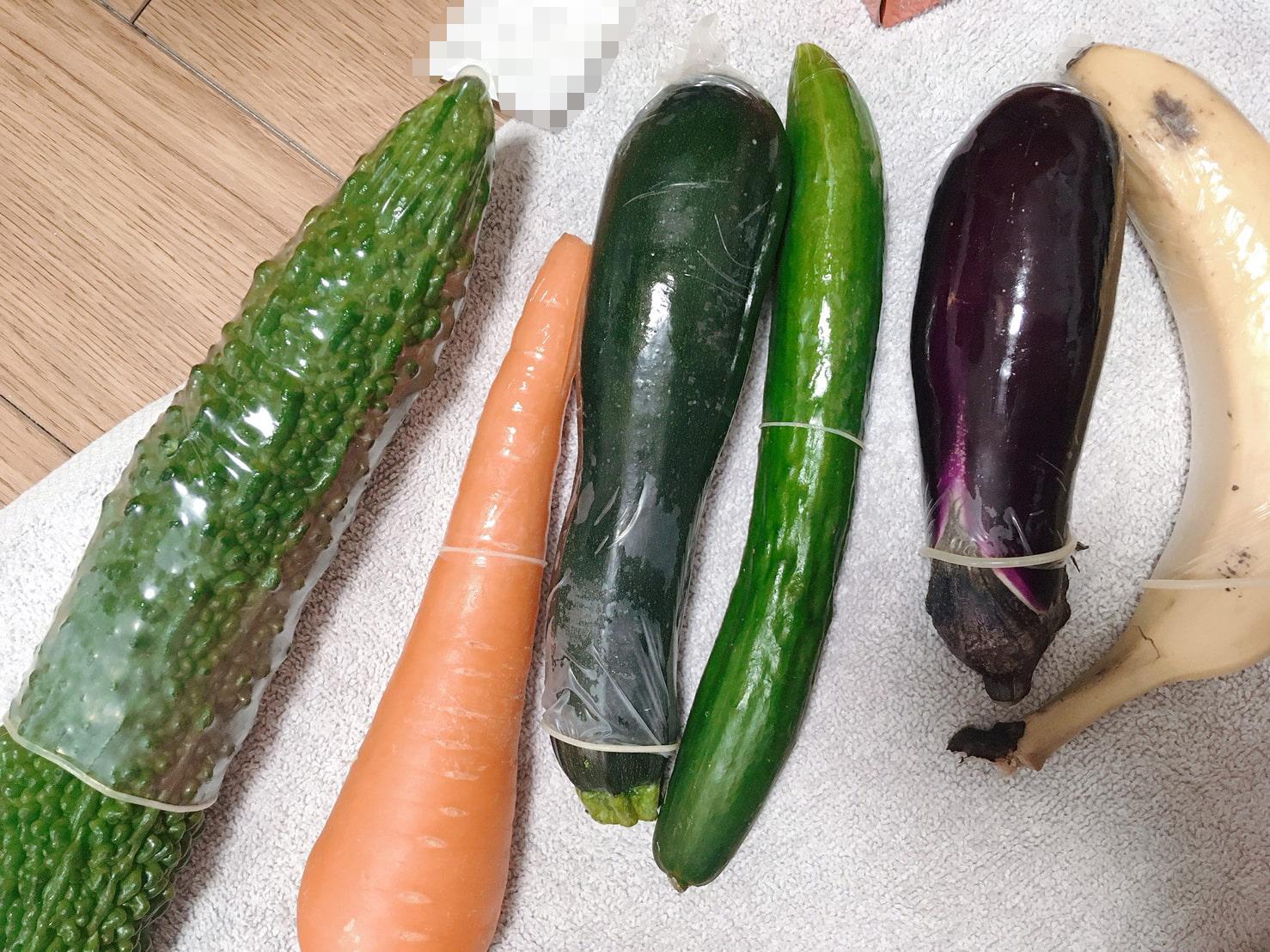 Vegetable G Spot Stimulation!