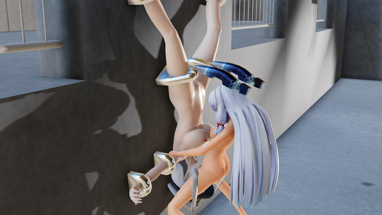 ヌける!ふたなりレズSEXムービー集vol.17叢雲×エンタープライズ4