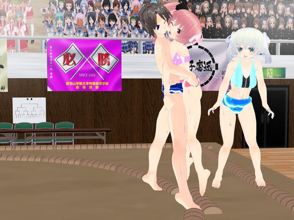 3Dカスタム少女 相撲試合集2