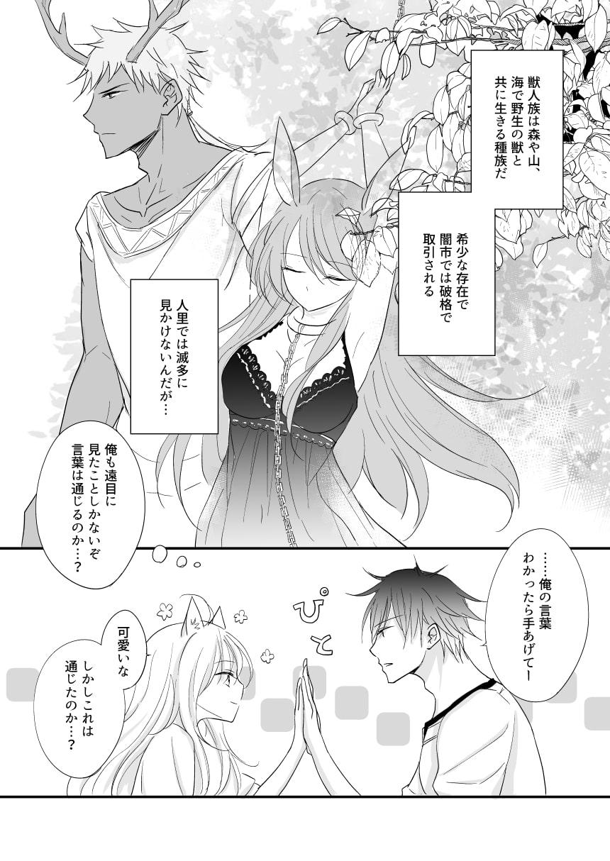 発情~子猫を拾った騎士の話~