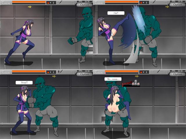 SHINOBI GIRL: EROTIC SIDE SCROLLING ACTION GAME (English translated version) [KooooN Soft]