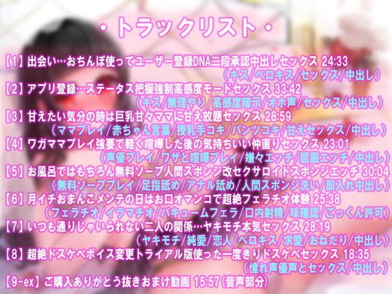 RJ305186 [20201120]【動画付】おしかけ全性癖対応型ロイドと甘々恋人搾精性カツ