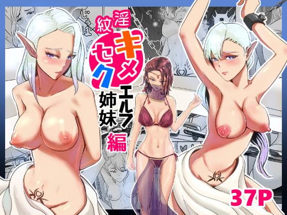 淫紋キメセク エルフ姉妹 編のタイトル画像