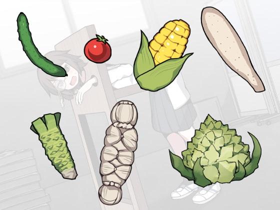 ポンコツな天才科学部長に野菜ぶち込む実験