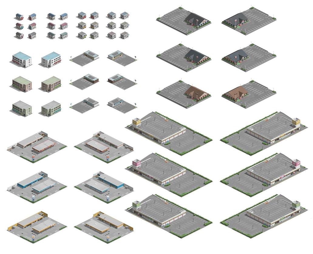ピクセル シティマップ ースターターセットー