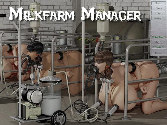 【新着同人ゲーム】Milk Farm Managerのトップ画像