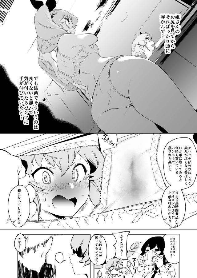 アンチョビ姐さんのブイヨンパンティ作戦ッス!