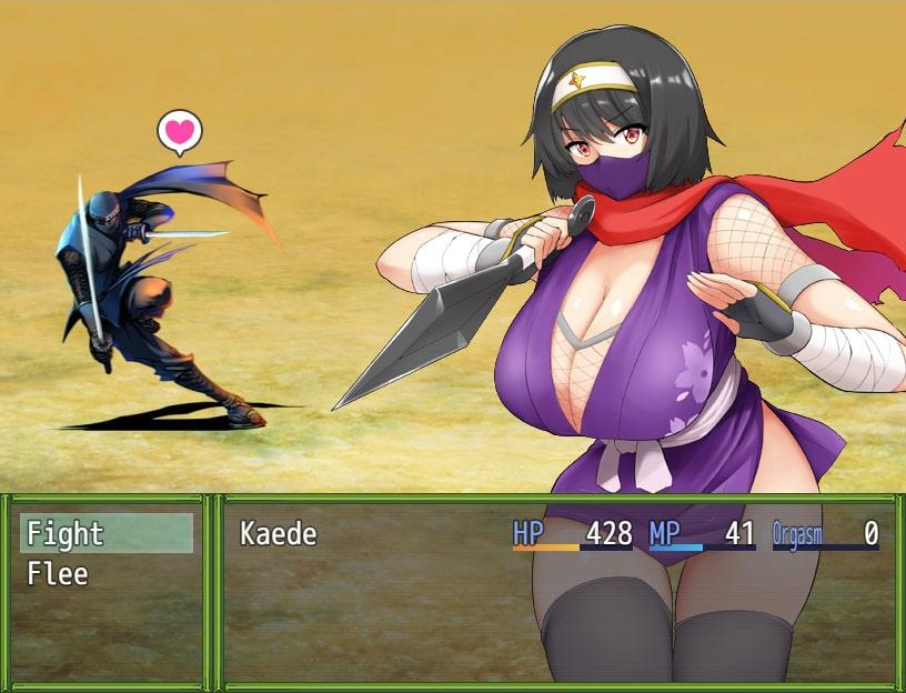 Kunoichi Kaedeのサンプル画像5