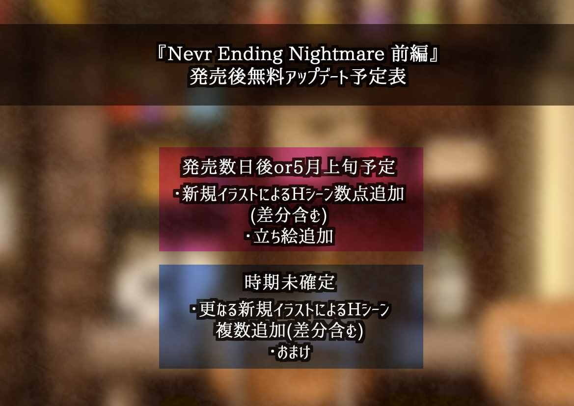 Never Ending Nightmare【前編】