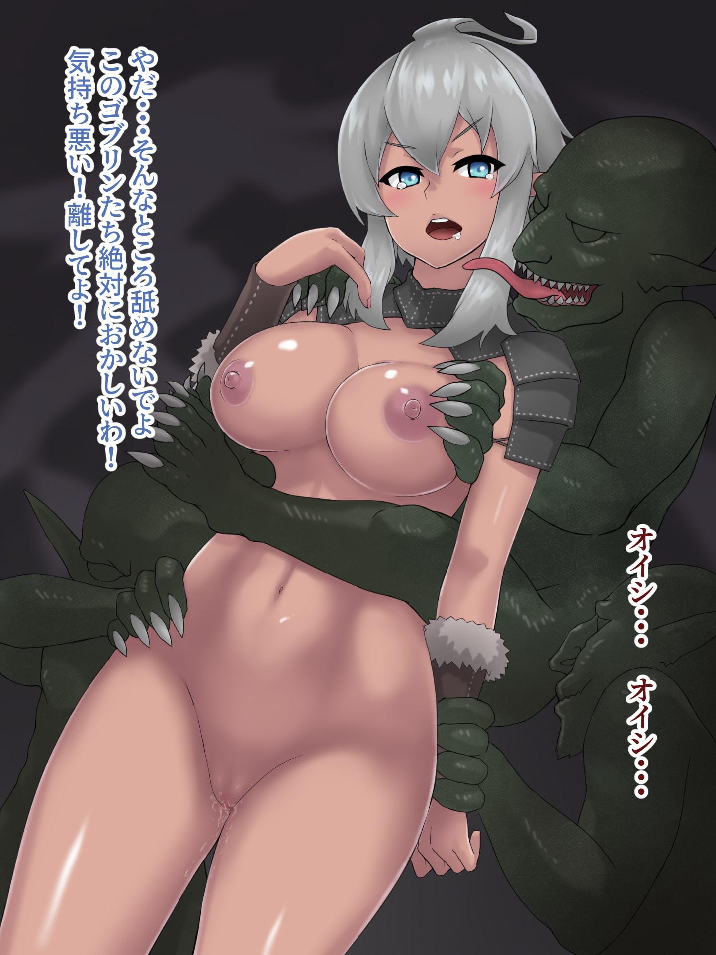 褐色エルフちゃんの冒険~ゴブリン達に犯されて~(ミニCG集)
