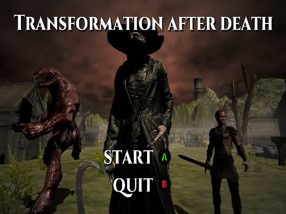 【新着同人ゲーム】Transformation after deathのトップ画像
