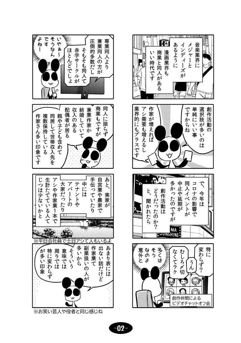 漫画アシのABC~2020年冬~のサンプル画像