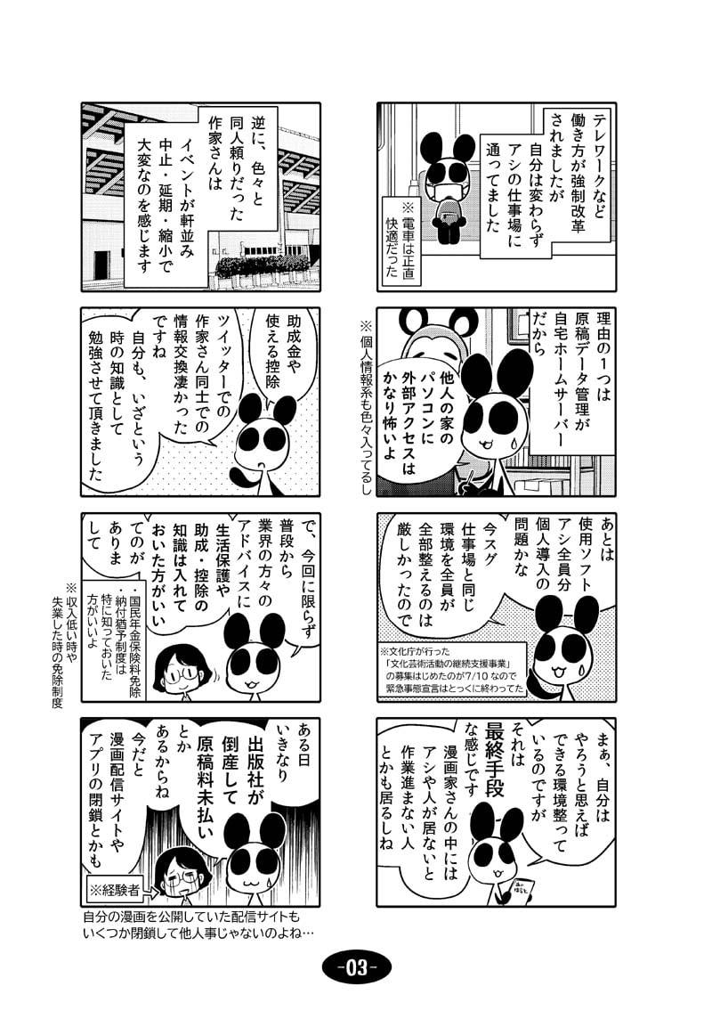 漫画アシのABC~2020年冬~