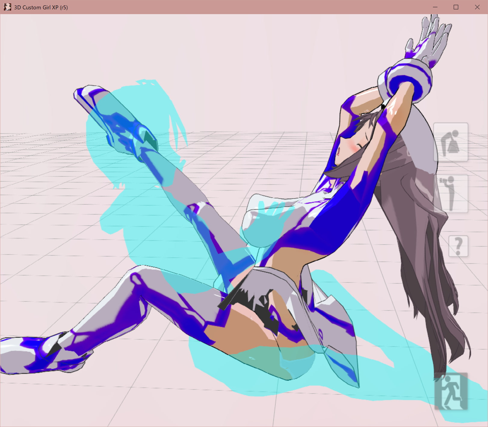 3Dカスタム少女追加モーション正常位smallpack1