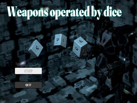 【新着同人ゲーム】Weapons operated by diceのアイキャッチ画像