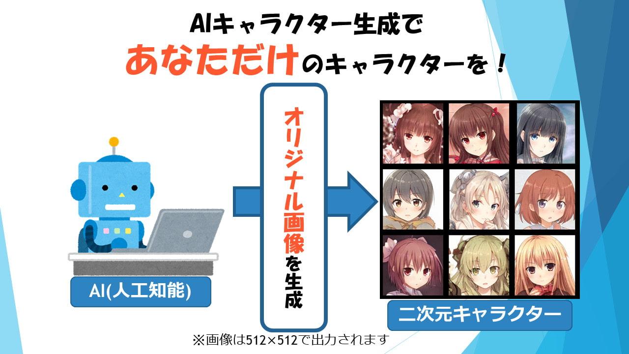 AIキャラクターメーカー